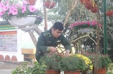 [Photo] Những người lính biên phòng đón Tết ở biên cương