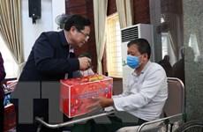Ông Phạm Minh Chính thăm Trung tâm Điều dưỡng thương binh Thuận Thành