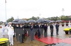 Lãnh đạo Đảng, Nhà nước viếng Chủ tịch Hồ Chí Minh và các liệt sỹ