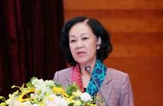 Bà Trương Thị Mai phát động Tết trồng cây 'Đời đời nhớ ơn Bác Hồ'