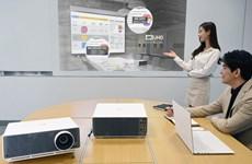 Hãng LG cho ra mắt sản phẩm máy chiếu mới sử dụng tại công sở