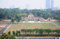 Hà Nội: Xây dựng Hoàng thành Thăng Long thành công viên di sản