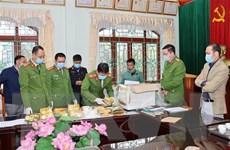Mở rộng chuyên án, Công an Lai Châu thu giữ thêm 32kg ma túy dạng đá