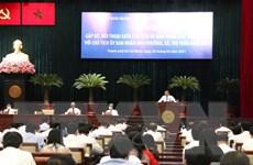 Lãnh đạo TP.HCM đối thoại với chủ tịch 312 phường, xã, thị trấn