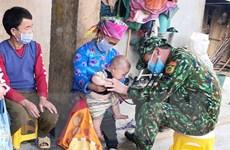 Người thầy thuốc quân hàm xanh ở Si Ma Cai được dân bản yêu mến