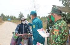 Tây Ninh kiểm soát chặt khu vực biên giới để phòng dịch COVID-19