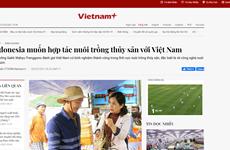 Nghiên cứu hợp tác thủy sản với Indonesia từ phản ánh của VietnamPlus