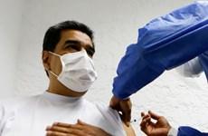Tổng thống Venezuela được tiêm liều vắcxin Sputnik V đầu tiên