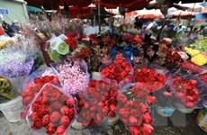 Thành phố Hồ Chí Minh: Hoa tươi cắt cành hút khách trong ngày 8/3