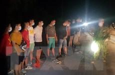 Long An: Bắt giữ 14 người nước ngoài có ý định vượt biên trái phép