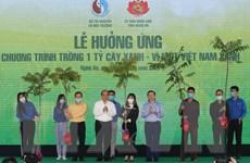 Thủ tướng Nguyễn Xuân Phúc dự Lễ hưởng ứng trồng 1 tỷ cây xanh