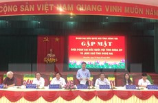 Ông Võ Văn Thưởng dự cuộc gặp giữa đại biểu QH và lãnh đạo Đồng Nai