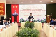 Bí thư Thành ủy Hà Nội: Xây dựng Cầu Giấy thành quận tốp đầu thành phố