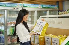 Sữa tươi chứa tổ yến của Vinamilk lần đầu xuất sang Singapore