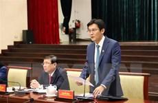 Lãnh đạo Thành phố Hồ Chí Minh đối thoại với doanh nhân trẻ