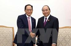 Thủ tướng tiếp đại diện 5 tập đoàn công nghệ cao hàng đầu Hàn Quốc
