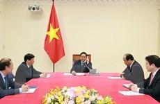 Thủ tướng Campuchia điện đàm chúc mừng Thủ tướng Phạm Minh Chính