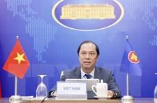 Đối thoại giữa các Bộ trưởng Ngoại giao ASEAN và Ngoại trưởng Anh