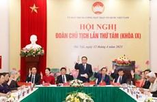 Hội nghị Đoàn Chủ tịch Ủy ban Trung ương MTTQ thảo luận về nhân sự