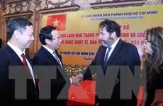 Thúc đẩy quan hệ hợp tác giữa TP.HCM và các đối tác nước ngoài