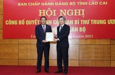 Công bố Quyết định của Ban Bí thư về công tác cán bộ tại Lào Cai