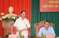 Kiểm tra, giám sát công tác phục vụ bầu cử tại tỉnh Đắk Lắk
