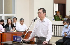 Hình ảnh phiên xét xử cựu Bộ trưởng Vũ Huy Hoàng và đồng phạm