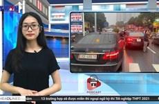 [Audio] Hết Mercedes lại đến Porsche trùng biển số 'chạm mặt' trên phố