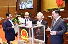 Lãnh đạo các nước gửi điện, thư chúc mừng các nhà lãnh đạo Việt Nam