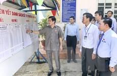 Giám sát, kiểm tra công tác chuẩn bị bầu cử tại tỉnh Bình Thuận