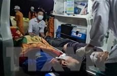Cứu nạn hai thuyền viên bị tai nạn lao động, bất tỉnh trên biển