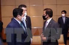 [Photo] Thủ tướng Phạm Minh Chính chào xã giao Quốc vương Brunei