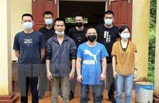 Tuyên Quang: Đưa 7 người Trung Quốc nhập cảnh trái phép đi cách ly