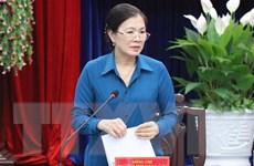 Kiểm tra, giám sát công tác chuẩn bị bầu cử ở tỉnh Bạc Liêu