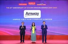 Amway: 10 năm liên tục kinh doanh thành công tại Việt Nam
