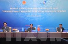 Việt Nam thúc đẩy vấn đề bảo vệ cơ sở thiết yếu của người dân