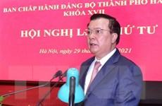 Hội nghị lần thứ 4 Ban Chấp hành Đảng bộ thành phố Hà Nội