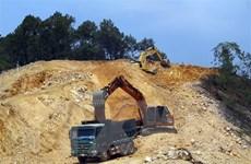 Cao tốc Bắc-Nam đoạn Phan Thiết-Dầu Giây thiếu vật liệu đắp nền