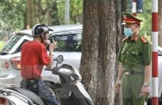 Hà Nội xử lý nghiêm các trường hợp không đeo khẩu trang nơi công cộng