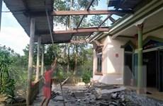 Hà Tĩnh khắc phục hậu quả mưa lớn và lốc xoáy tại huyện Hương Khê
