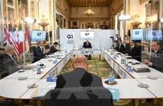 Ngoại trưởng G7: Sẽ giải quyết vấn đề Syria bằng biện pháp chính trị