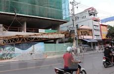 Phú Yên: Rơi thanh cẩu tại công trường thi công tòa nhà 20 tầng