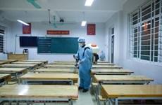 Nam Định: Xét nghiệm toàn bộ giáo viên và học sinh Trường Lê Quý Đôn
