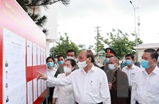 [Photo] Chủ tịch nước tiếp xúc cử tri tại huyện Củ Chi và Hóc Môn