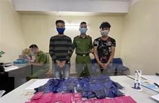 Sơn La: Bắt giữ hai đối tượng, thu 18.000 viên ma túy tổng hợp