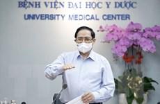 Thủ tướng thăm, làm việc tại Bệnh viện Đại học Y Dược TP Hồ Chí Minh