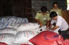 TP Hồ Chí Minh phát hiện hơn 150 tấn đường nghi nhập lậu