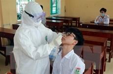 Một học sinh dương tính với SARS-CoV-2, Nam Định xét nghiệm diện rộng