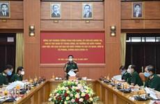 Quân đội tăng cường lực lượng chi viện cho các địa phương chống dịch