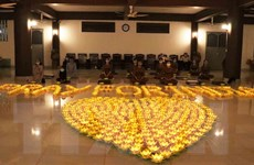 Tăng ni, Phật tử TP Hồ Chí Minh chia sẻ khó khăn với nhân dân Ấn Độ